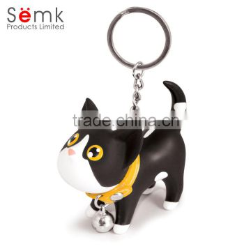 Novelty SEMK brand magnetic key ring custom key ring