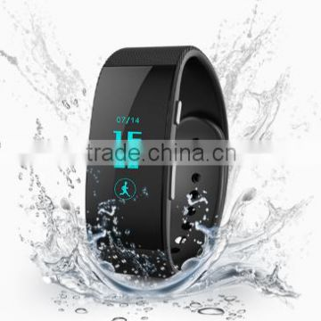 customized wristband bracelet pedometer fitness tracker bluetooth smart watch for Android and ios phone                                                                         Quality Choice