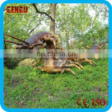 Outdoor theme park giant insect robot