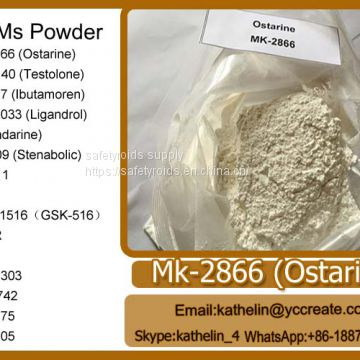 SARMs Raw Powder Ostarine(MK-2866) For Muscle Building And Fat Burns CAS: 1202044-20-9,841205-47-8