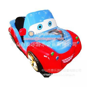 Zhongshan amusement  cartoon kiddie rides wig-wag machine Joy Car coin operated