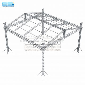 Used dj truss,moving head truss stands,portable stage lighting truss,aluminum stage tent spigot truss system display