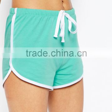 Alibaba Hot Selling Products Basic Cotton Shorts with Contrast Binding Girls Sports Pants SK0164144