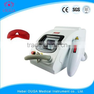 Laser Tattoo Removal Equipment Portable Low Cost Nd Yag Laser 0.5HZ Machine Tattoo Removal Equipment Facial Veins Treatment