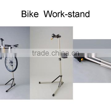 SIMETU Portable Home Bike Repair Stand Adjustable Height Bicycle Stand