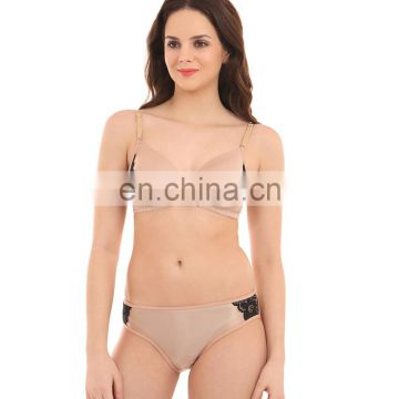 Latest Sexiest Stylist Lycra Skin Bra & Panty Set