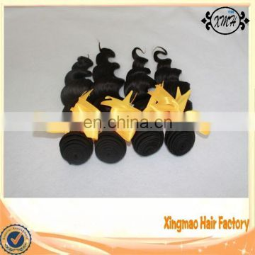 Full Cuticle Top Quality 7A Grade Loose Wave Unprocessed Brazilian Human Hair 100% Virgin Human Hair Bundles