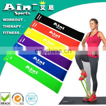 Fitness Sturdy Bodybuilding Hip Resistance Band - Set of 3,4,5,6 Booty Bands, Fit Simplify Resistance Loop Bands