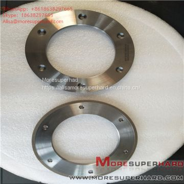 164*6*105*3*3 Metal Bond Diamond Grinding Wheel for Glass Machine  Alisa@moresuperhard.com