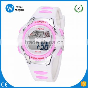 DLW005/ Hot sale men sport watches LED water resistant digital watch good gift for Children