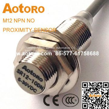 magnetic switch sensor SR12-10DN M12 inductive china manufacturing hall effect sensor hot sell