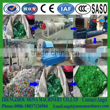 Waste plastic recycling machine/PET Bottle Recycling Plant/ PET Bottle Flake Crusher Washer Dryer Recycle Line price