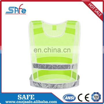 ANSI.MESH safety reflective clothing with 3m tape for workplace