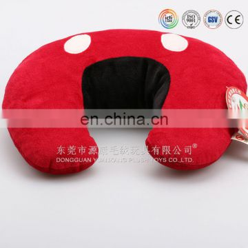 U shaped neck pillow with light music for a good rest
