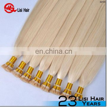 New hotsale virgin remy keratin rapunzel hair extensions