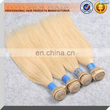Wholesale top quality most popular 36 inch blonde hair extensions