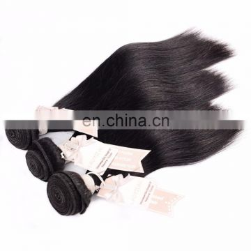 virgin hair weave straight brazilian human hair extension
