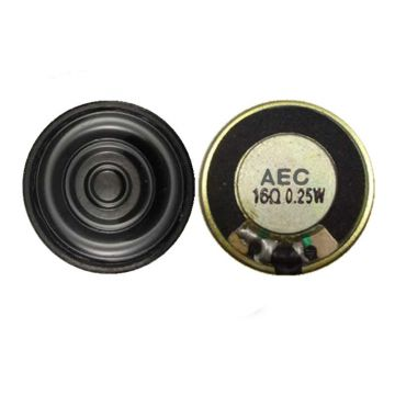 top sale 20mm speaker parts 16ohm 0.25w micro speakers for earphone