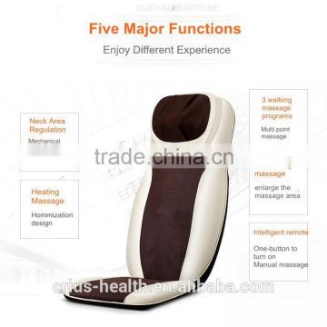 kneading shiatsu best quality car massage cushion