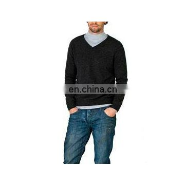wholesale v-neck mens elegant 100% cashmere
