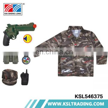 Hot selling military police child costume import from china
