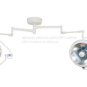 China  SH MEDECO Halogen Operating Lamp (Xyx-F700/500 Chinese arm)multi refelector surgical light