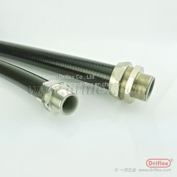 LT conduit made with cotton packed galvanized steel inner casing with PVC covering