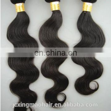Perfect lady natural color malaysian body wave hair weave bundles