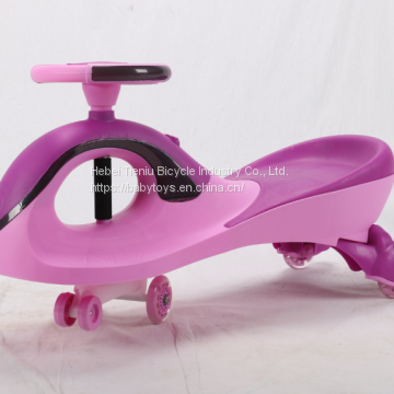 Colorful baby twist car swing car  New model with EN71 ASTM certificates