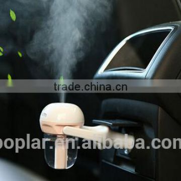 New Hot Launched portable car air humidifier air freshener essential oil humidifier Car fragrance humidifier and diffuser