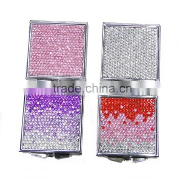 Jeweled lighted mirror bling make up mirror