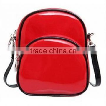 Pormotion candy color PU leather backpack shape cosmetic bag made in china                                                                                                         Supplier's Choice