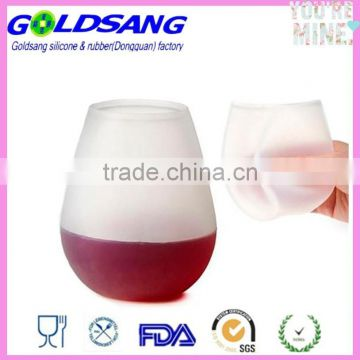 Food Grade Unbreakable Silicone Party Cups