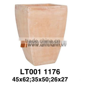 Vietnam Decorative White Wash Terracotta For Home and Garden