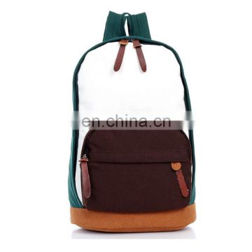 Fashion canvas leisure bag backpack