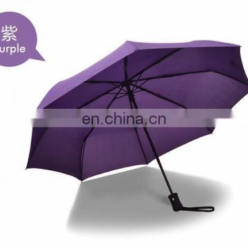 5e7e8d532610c high quality bussiness genuine leather handle brand sun rain Umbrella 3  Fold Anti UV French royal Umbrellas For/8K/106CM of Umbrella from China  Suppliers - ...