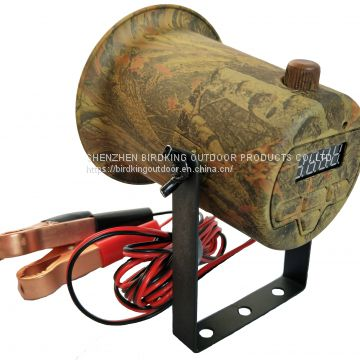 Camouflage Mp3 Hunting Bird Caller with Timer Memory 50W loud Speakers