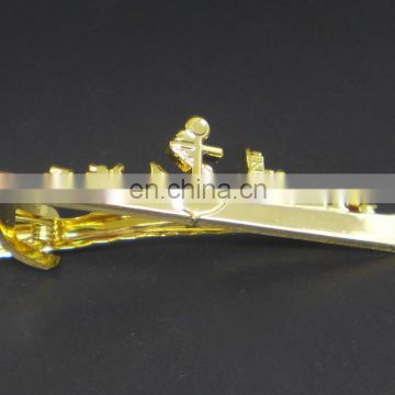 High-end antique gold MOQ 10 vintage tie clips