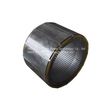 Silicon steel lamination iron core electric motor generator rotor stator core