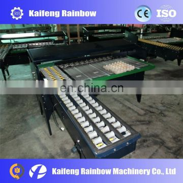 Farm poultry full function egg cleaning grading automatic packing machine