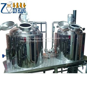 Hot sale 300L beer brewing equipment customized beer mash system making machine