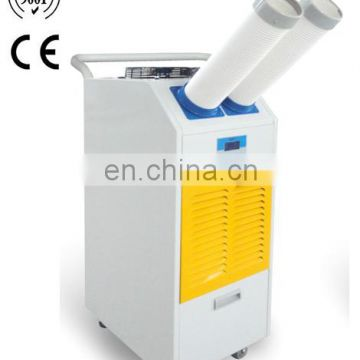 AC power mobile air conditioner with cooling and heating function