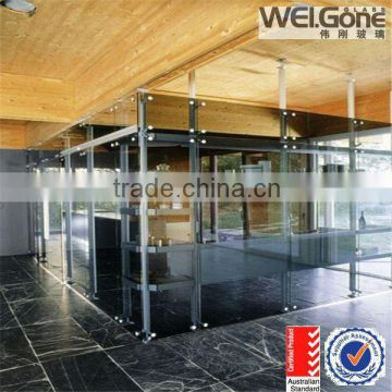 moveable office glass wall partition