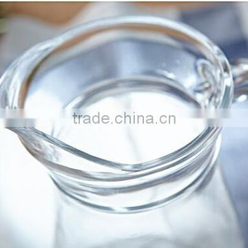 Hot selling good quality glass water jug with lid