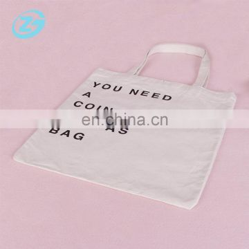 Environment Friendly Blank Custom Logo Natual 100 Cotton Canvas Bag