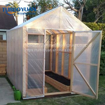 strong reinforced woven fabric poly film for greenhouse