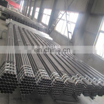 China hot rolled carbon electric erw welded steel pipe tube