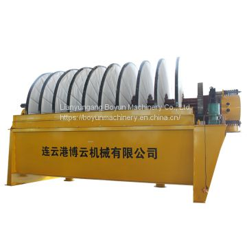 Mining Slurry Dewatering Rotary Disc Pressure Filter Machine