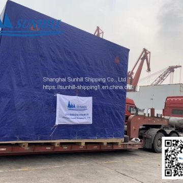 Shanghai to Novorossiysk general goods logistic agent