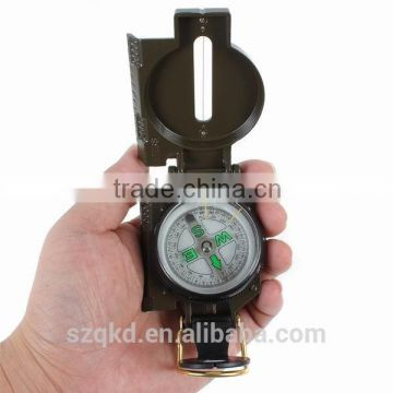 Lensatic Compass Army Green Mini Antique Military Compass